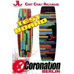JN Chit Chat Reloaded TEST Kiteboard - 142cm Komplett