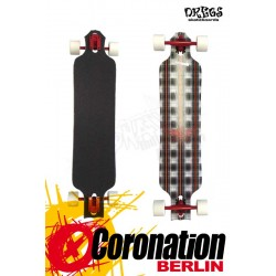 Dregs Slide 102 PLAID 38 x 8.5 Longboard