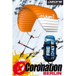 Ozone Frenzy V10 Ultralight Snowkite avec barre