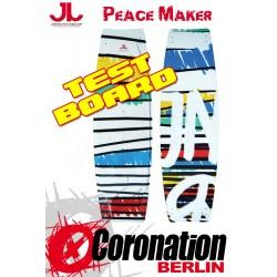 JN Peace Maker TEST Kiteboard 142cm Komplett