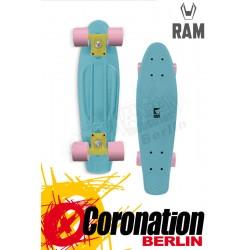 """RAM Mini Cruiser 22"""" Piccolina bleu complète Longboard"""
