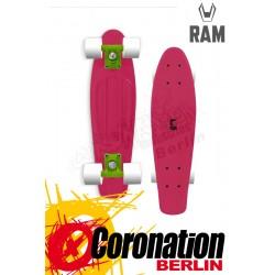 """RAM Mini Cruiser 22"""" Pink Komplett Longboard"""