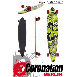 Voltage Longboard Pintail Cruiser - vert