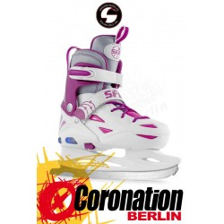 SFR ECLIPSE Schlittschuh Light Up adjustable ICE SKATES white