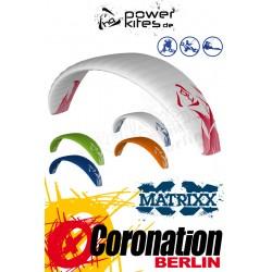 HQ Matrixx II 7.0 Depower Snowkite avec barrere