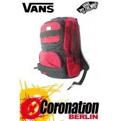 Vans Shroud Skateboard & Street Rucksack Schul & Freizeit Backpack Red