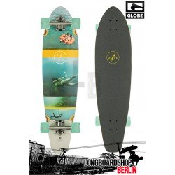 Globe Strange Rumblings Kicktail Cruiser Longboard