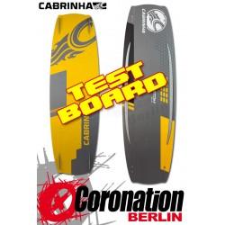 Cabrinha Custom 2015 TEST Kiteboard 139cm Komplett mit H2