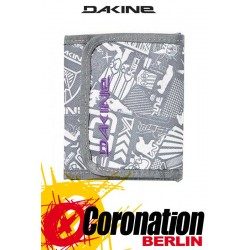 Dakine Vert Rail Brieftasche Portemonnaie grey chop shop Wallet