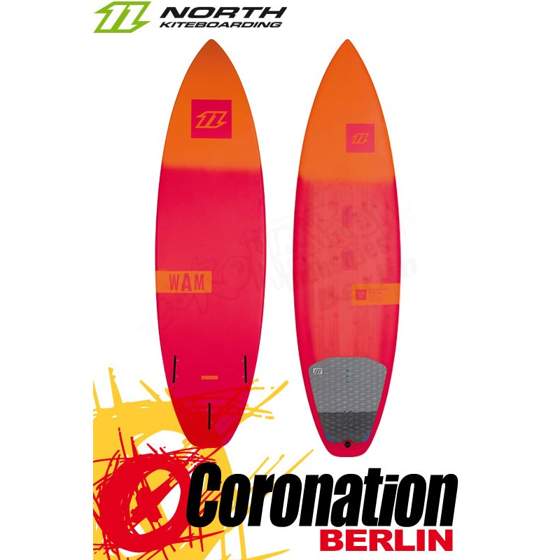 North Wam 2016 Wave-Kiteboard 5'7