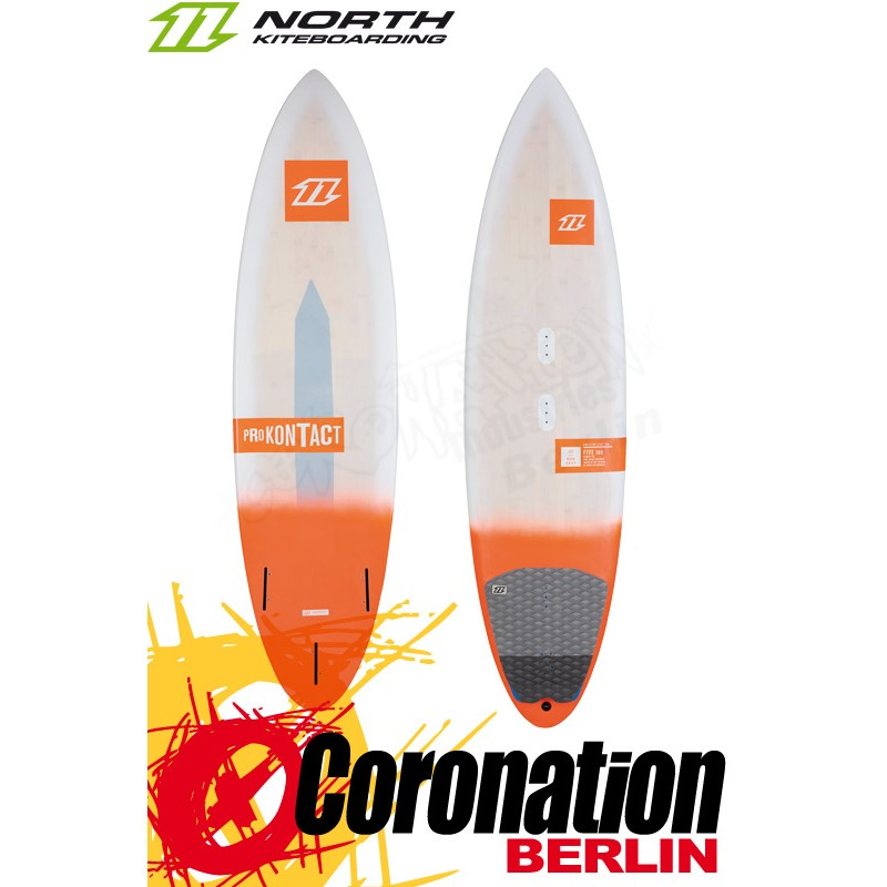 North Pro Kontact 2016 Wave-Kiteboard 5'10