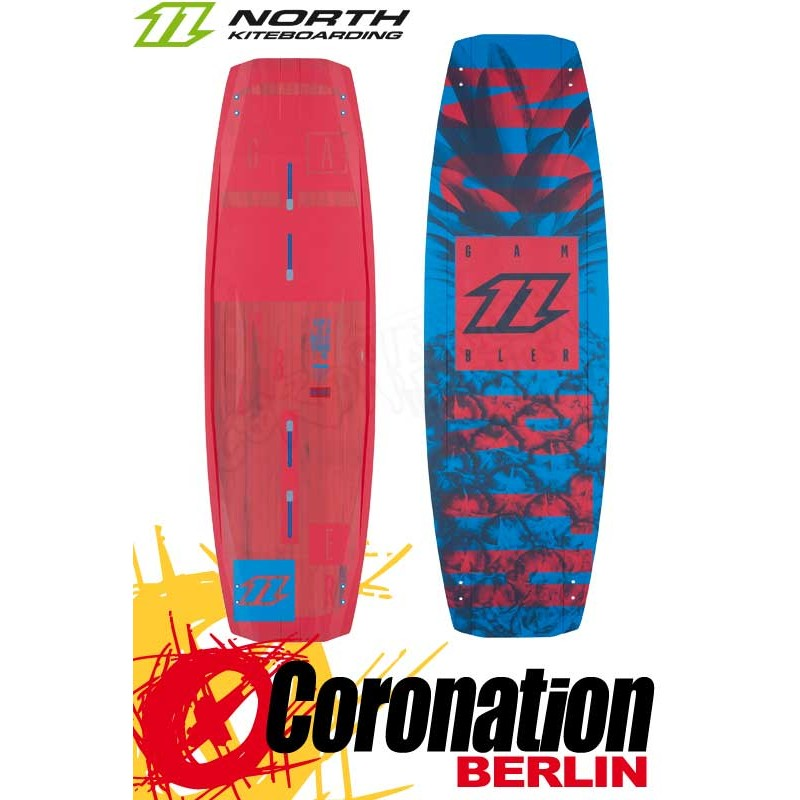 North Gambler 2016 Kiteboard 136cm