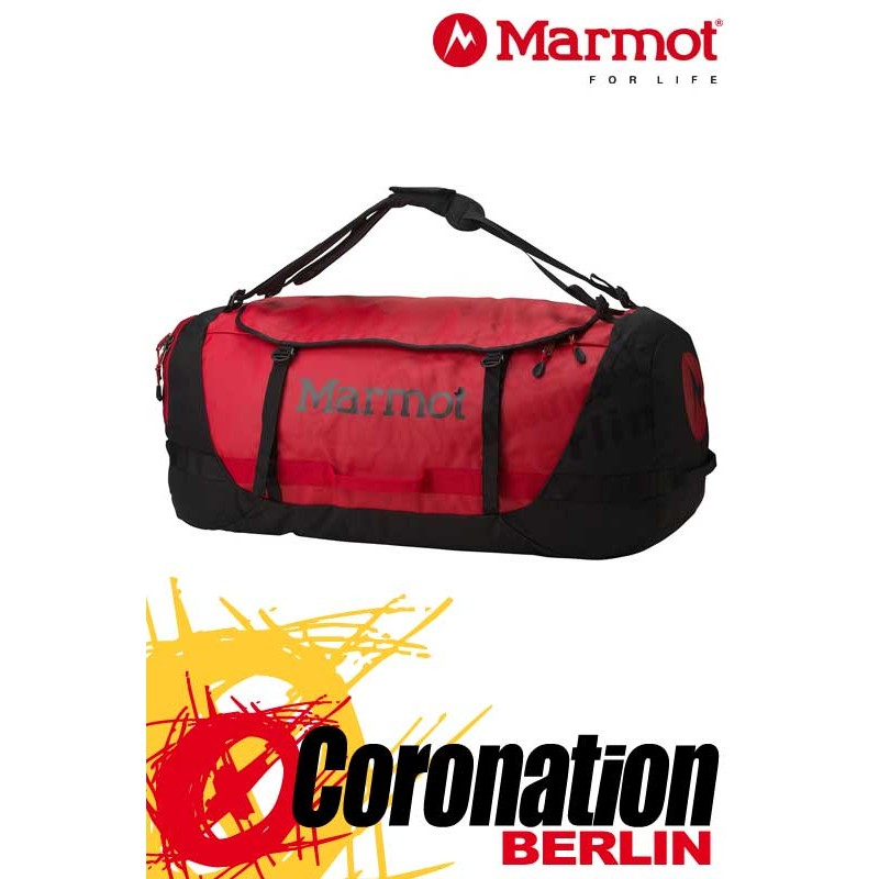 Marmot Long Hauler Duffle Bag XL Touren, Trekking & Freizeit Rucksack Team Red