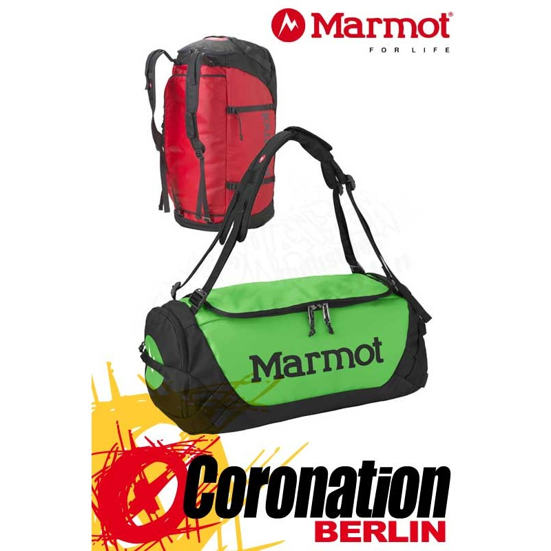 Marmot Long Hauler Duffle Bag Large Team Red Touren, Trekking & Freizeit Rucksack