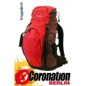 Bigpack Sondrio Trekking Hiking Wanderrucksack Touren Backpack 24L rouge