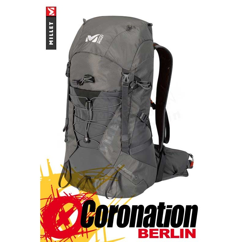 the latest 65057 fc480 Millet Respiration 25 Fast Hiking Bergsport Rucksack Wander Backpack  Charcoal