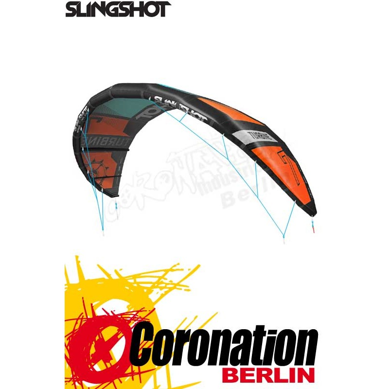 Slingshot Turbine 2017 Kite - High Performance Freeride Hangtime
