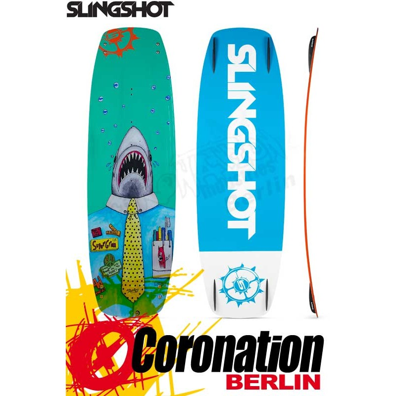 Slingshot Super Grom 2017 Mini Size Freeride Freestyle Kiteboard