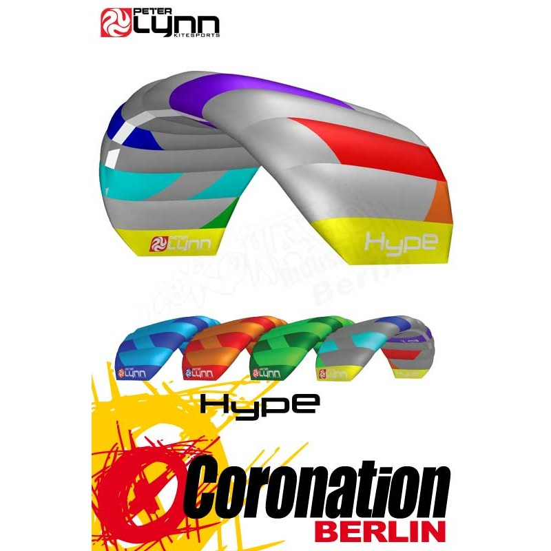 Peter Lynn Hype 1.3 Softkite 2-lines Fixed Bridle complete