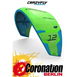CrazyFly Sculp 2017 Allround Kite Green