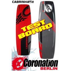Cabrinha ACE 2015 TEST Kiteboard 137cm Komplett mit H2