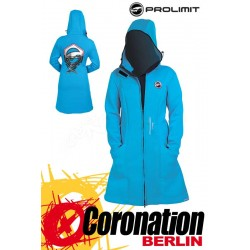 Prolimit Pure Girl Racer Jacket - Neopren Mantel Cyan