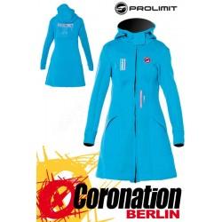 Prolimit Pure Girl Racer Jacket - Neopren Mantel Cyan