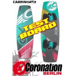 Cabrinha XO Siren 2015 TEST Kiteboard 133cm Komplett