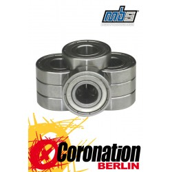 MBS Bearing für Skate Trucks 8er-Set 9,5x28mm