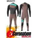 Brunotti Bravery 5/3 D/L combinaison neoprène Frontzip Full Wetsuit Brown