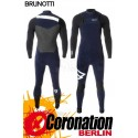 Brunotti Bravery 5/3 D/L combinaison neoprène Frontzip Full Wetsuit Blue