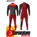 Brunotti Bravery 5/3 D/L combinaison neoprène Frontzip Full Wetsuit Dark Red