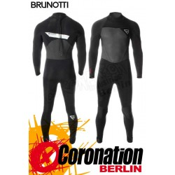 Brunotti Bravery 5/3 D/L Neoprenanzug Backzip Full Wetsuit Black