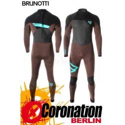 Brunotti Bravery 5/3 D/L combinaison neoprène Backzip Full Wetsuit Brown