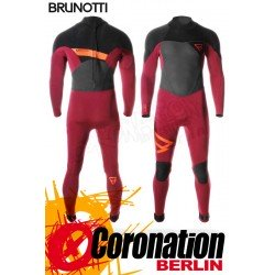 Brunotti Bravery 5/3 D/L Neoprenanzug Backzip Full Wetsuit Dark Red