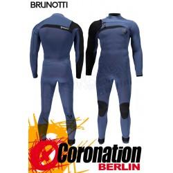 Brunotti Bravo 5/3 Frontzip Neoprenanzug Full Wetsuit Blue