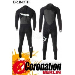Brunotti Defence 5/3 D/L Backzip Neoprenanzug Full Wetsuit Black-Silver
