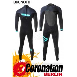 Brunotti Defence 5/3 D/L Backzip Neoprenanzug Full Wetsuit Black-Mint