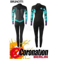 Brunotti Defence 5/3 Backzip Frauen Neoprenanzug Wetsuit Mint/Purple