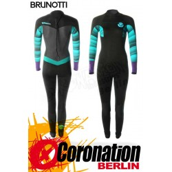 Brunotti Defence 5/3 Backzip Frauen Neoprenanzug Wetsuit Mint/Purple