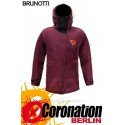 Brunotti Rider Jacket Neopren Jacke Dark Red