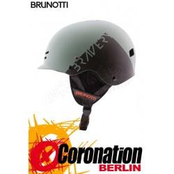 Brunotti Bravery Helmet Hardshell Helm Granite Green
