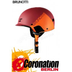 Brunotti Bravery Helmet Hardshell Helm Red Orange