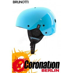 Brunotti Brand Helmet Hardshell Helm Light Blue