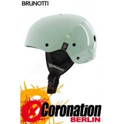 Brunotti Brand Helmet Hardshell Helm Granite Green