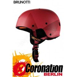 Brunotti Defence Helmet Hardshell Helm Red
