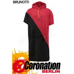Brunotti Poncho Black / Dark Red