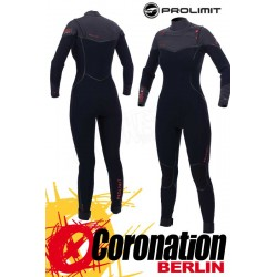 Prolimit FIRE Frontzip 5/3 Pure Girls Steamer 2017 Black