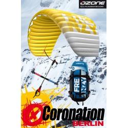 Ozone Frenzy V10 - 9m² Snowkite mit Bar