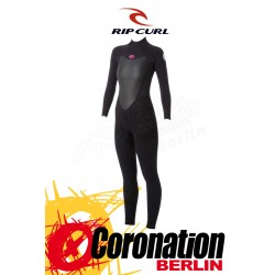 Rip Curl Omega Woman Wetsuit 5/3 Backzip Frauen Neoprenanzug Black
